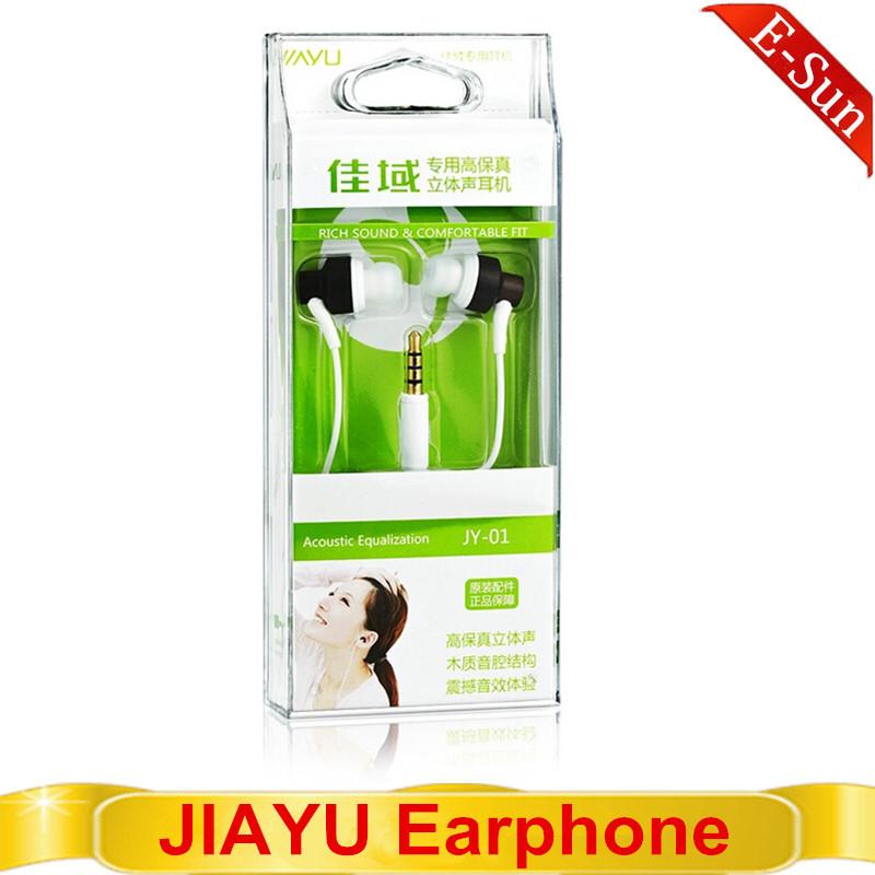 Original JIAYU JY-01 Wooden Earphone High Quality 3.5mm for JIYAYU G2S G3 G4 Free shipping(China (Mainland))