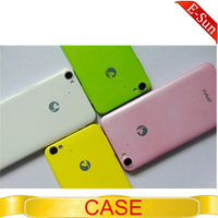 Original Plastic JIAYU G4 back cover  protective case for JIAYU G4 MTK6589T 3000mAH Version Android phone free shipping