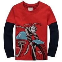 Boys' Sports Long T-shirts Children Football Long-sleeved Tees, 6 Sizes/lot - JBLT242/JBLT254/JBLT259/JBLT276/JBLT313/JBLT314