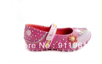 2014 Cute George Peppa Pig Shoes Branded Children Shoes High Quality Pink Girls Princess Casual Shoes ,Girls Sneakers.