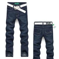 fashion Men's long Jeans Trouser Straight Leg fit Leisure Casual pants  2015 New Style brand cmale denim pant homens jean calcas