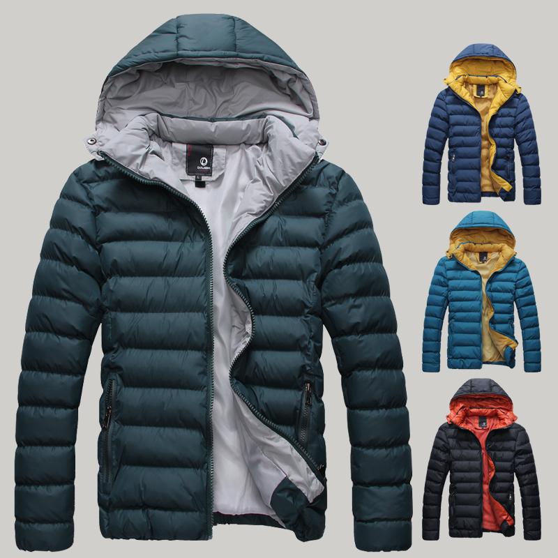Livraison gratuite hiver, extérieur. doudoune& parkas pour hommes bouchon amovible thermique de haute qualité homme décontractéfabricant épaississement de coton- rembourré