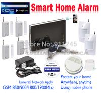 RU/SP/EN iOS & Andorid App Supoorted Wireless Smart GSM Alarm System Infrared Motion Sensor Alarm Quad Band SG-172