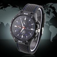 Rubber Strap Silicone Watch F1 GT Men's Sports watch women Casual watches Cycling Analog wristwatch Dropship  Free shipping