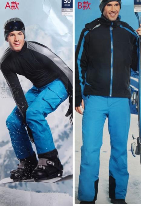 A0003p männer outdoor-hose Baumwolle- gepolsterte Skifahren hose wasserdicht
