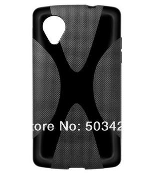 For Google Nexus 5 X-TPU Soft Case,New X Line Soft TPU Gel Back Case For LG Google Nexus 5 D802