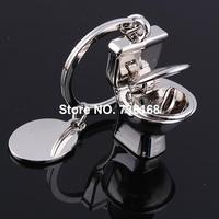 Free shipping llavero unico hotsale online key ring wholesale jewelry zinc alloy fashion closestool unique key chain closestool