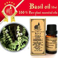 100% pure plant essential oils Egypt imports basil oil 10ml Migraine headache Menstrual flow