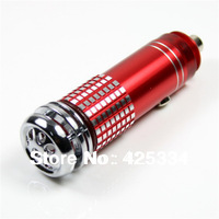 Free Shipping  New Mini Auto Car Fresh Air Lonic Purifier Oxygen Bar Ozone Lonizer Cleaner 12V