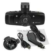 2013 New Arrive 2set/Lot High Quality HD 1080P Dash Auto Vehicle Car DVR Video Camera Camcorder Vision GS1000 Wholesale18230
