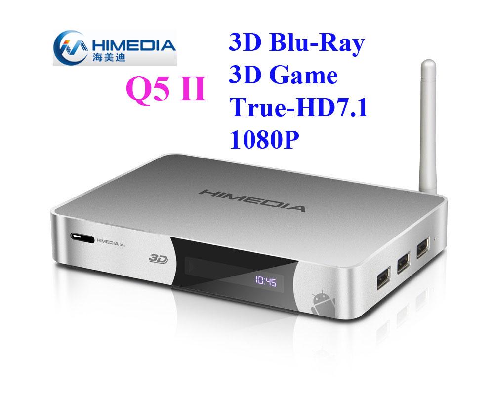 Himedia Q5ii Q5 ii Android4.2 Google Smart Set Top TV Box Dual Core 3D Blue-ray ISO SATA HDD Media Player eMMC Hisilicon Hi3718C(China (Mainland))