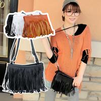 2015 fation women messenger bags TASSEL CROSS BODY BAG SHOULDER BAG Tote Handbags Freeshipping