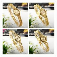 Luxury Brand Women dress Watches Top Quality Slim Gold Bracelet Quartz Watch Female clock Fashion Ladies Reloj Wholesale