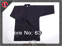 High Quality Kendo Iaido Aikido Gi Blue Red Martial Arts Uniform Sportswear Kimono Dobok Free Shipping