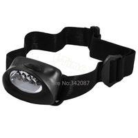 Cheap 8pcs/Lot Headlight 5 LED white Hiking waterproof HeadLamp  Flashlight Super Bright Wholesale 372