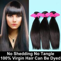 3 Bundles Malaysian Virgin Hair Straight Natural Black Unprocessed Human Hair Weave Malaysian Straight Hair Rosa Hair Products