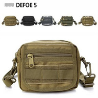 MOLLE System Kit Tool Utility Removable Pouch Purse Bag Military Advance Defense Ultralight Range Tactical Gear Free Shipping