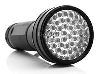 Promotion! 51 UV LED Scorpion Detector Hunter Finder Ultra Violet Blacklight Flashlight Torch Light  Lamp AA TK1114