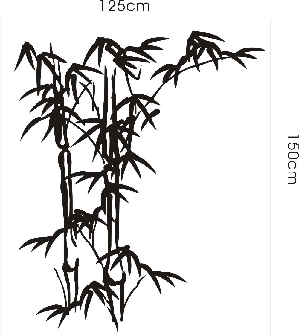 Бамбук нарисовать своими руками