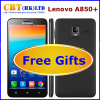 Lenovo A850 Android 4.2 Quad Core MTK6582M phone 5.5 inch 2250mAh Battery Smart mobile phone 3G GPS Daisy