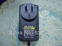 UK/US/AU/EU Plug DC 12V 2A Switching Power Supply adapter 100-240V AC For 3528 Led Strip Light or CCTV Camera 5.5*2.1mm