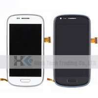 Free Shipping I747 LCD Display Touch Screen Digitizer Assembly With Frame  1 Pcs For Samsung Galaxy S III  T999,  White