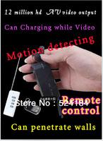 12 million hd wireless remote mini monitoring stealth miniature camera digital mini camera 720 p free shipping