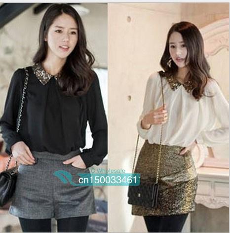 Женские блузки и Рубашки OL 3 M, L, XL женское платье ol s m l xl d0058