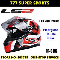 Authentic Ls2 FF396 Motorcycle Helmets Built-In Lens Casco Moto Racing Capacete Full Face Helmet