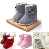 Baby Girl Snow Boots Infant Warm Cotton Shoes Toddler Winter Fashion Soft Skidproof Boots Free Shipping Drop Shipping Wholesale