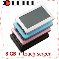 touch screen mp4 player mp4 8gb music player games player mp4 console 4.3 inch mp4/mp5 player ratail package