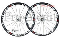 Lightest!Dura C35 38mm clincher carbon road wheelset, carbon rim with Basalt Braking Surface,700C road bike wheels Ti-QR