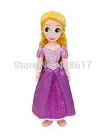 Free Shipping Disny Princess dolls Tangled boneca Rapunzel doll plush soft toy 50cm princesses kids toys for children girls