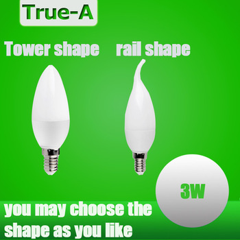 led  candle  lamp e14 3W    spotlight  smd 2835  warm / cool white 220V led  bulb  indoor s e27  chandlier partners super bright