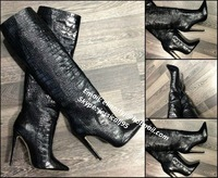 2013 Hottest Sexy Designer Boots for Woman Shoes Size 10 with Studs