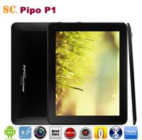 Original 9.7 Inch PiPO P1 3G RK3288 Quad Core Tablet PC Retina 2048*1536 Android 4.4 8.0MP Camera GPS Bluetooth 2G 32GB HDMI