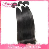 """Sunlight 5A Brazilian Virgin Hair Straight 3/4Pcs lot 1B# 8-30"""" Cheap Remy Human Hair Queen Weave Beauty Brazilian Straight Hair"""