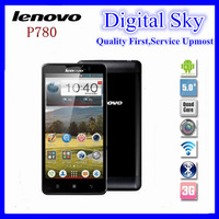 Quad Core Lenovo P780 phone Android 4.2 5.0'' Screen Gorillas II 8Mp Camera Multi Language, hot selling lenovo phone