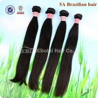 Free Shipping Top 5A Hot Sales Without Chemical Machine Weft Virgin Brazilian Hair