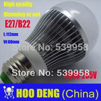 Free shipping 1Pcs/lot led bulb led lamp 110/220v 20W B22/E27 silver LED Lighting  Dimmable/Non-dimmable HOT SALE