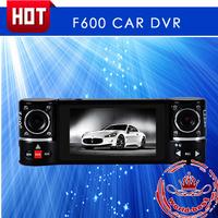 IN Stock full hd Dual lens 8 LED night vision dash camera 2.7 inch screen 180 degree rotation car dvr dual camera free shipping