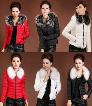 2013 женщин зима хлопок куртки тонкий