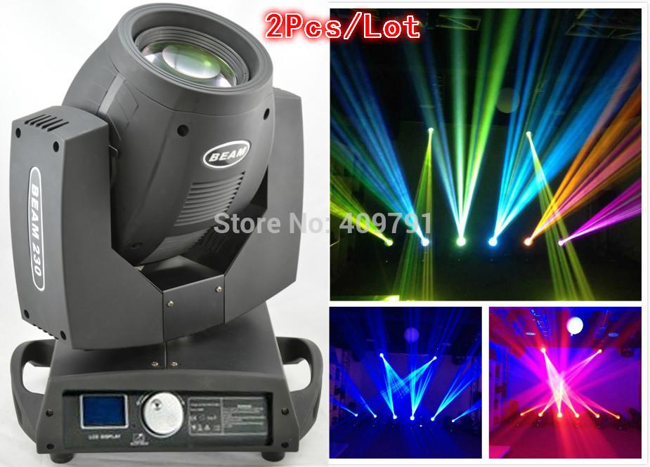2Pcs/Lot /Free Shipping Y-354 7R zoom 230W Beam moving head light lite/DJ Bar Disco Club Christmas LED Stage Lights(China (Mainland))