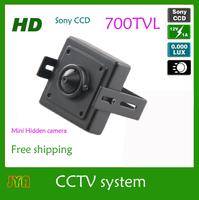JYA Brand Surveillance 700TVL  CCD HD 3.7mm  Mini Bullet Outdoor Hidden Security CCTV Camera