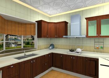 MDF Kitchen Cabinet K-M011