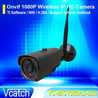 Free Shipping ONVIF 1080P HD Mini Wifi Dome IP Camera 2.0MP Wireless Network CCTV Camera IR Night Vision Security Camera