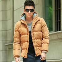 Free shipping 2013 new wholesale fashion Men's coat Winter overcoat Outwear Winter jacket slim warm winter parka coat for men