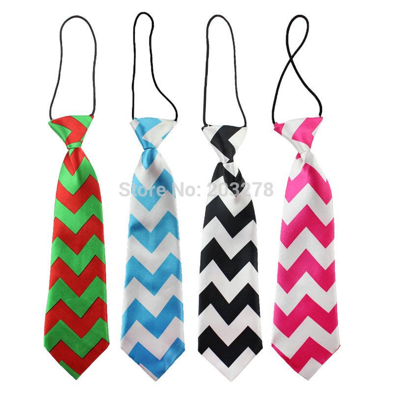 green stripe Chevron ties baby neck ties, kids boys girls ties christmas tie boy necktie children accessories wholesale(China (Mainland))