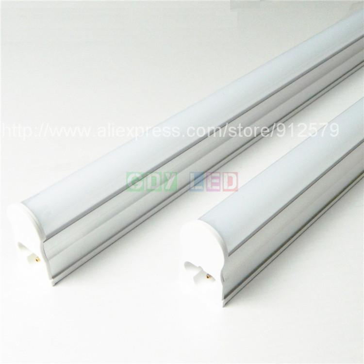 2pcs/lot 5W 300mm led T5 tube light SMD2835 chip 350lm 0.3m 30cm integrated fluorescent lamp warm/cold white AC110V 230V 240V(China (Mainland))