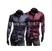 Men'S Shirts Polo New 2014 Casual-Shirt Silk Polo Hawaiian Shirt Camisa Polo Camiseta Masculinas Men Dress Horse Sequin Clothing